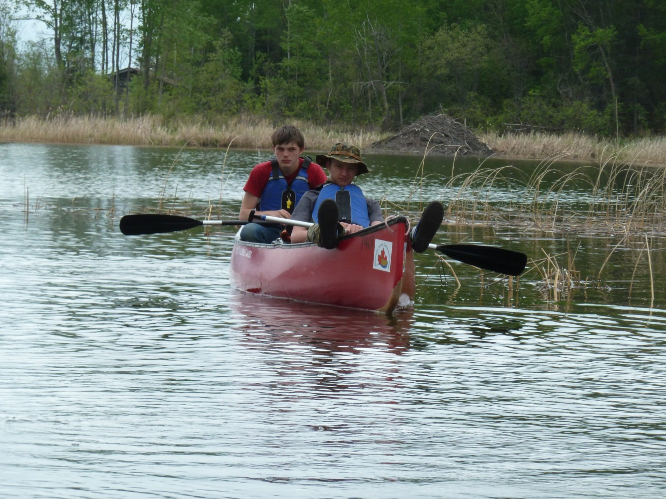 Bruno Central School Wilderness Canoe Trip 2016