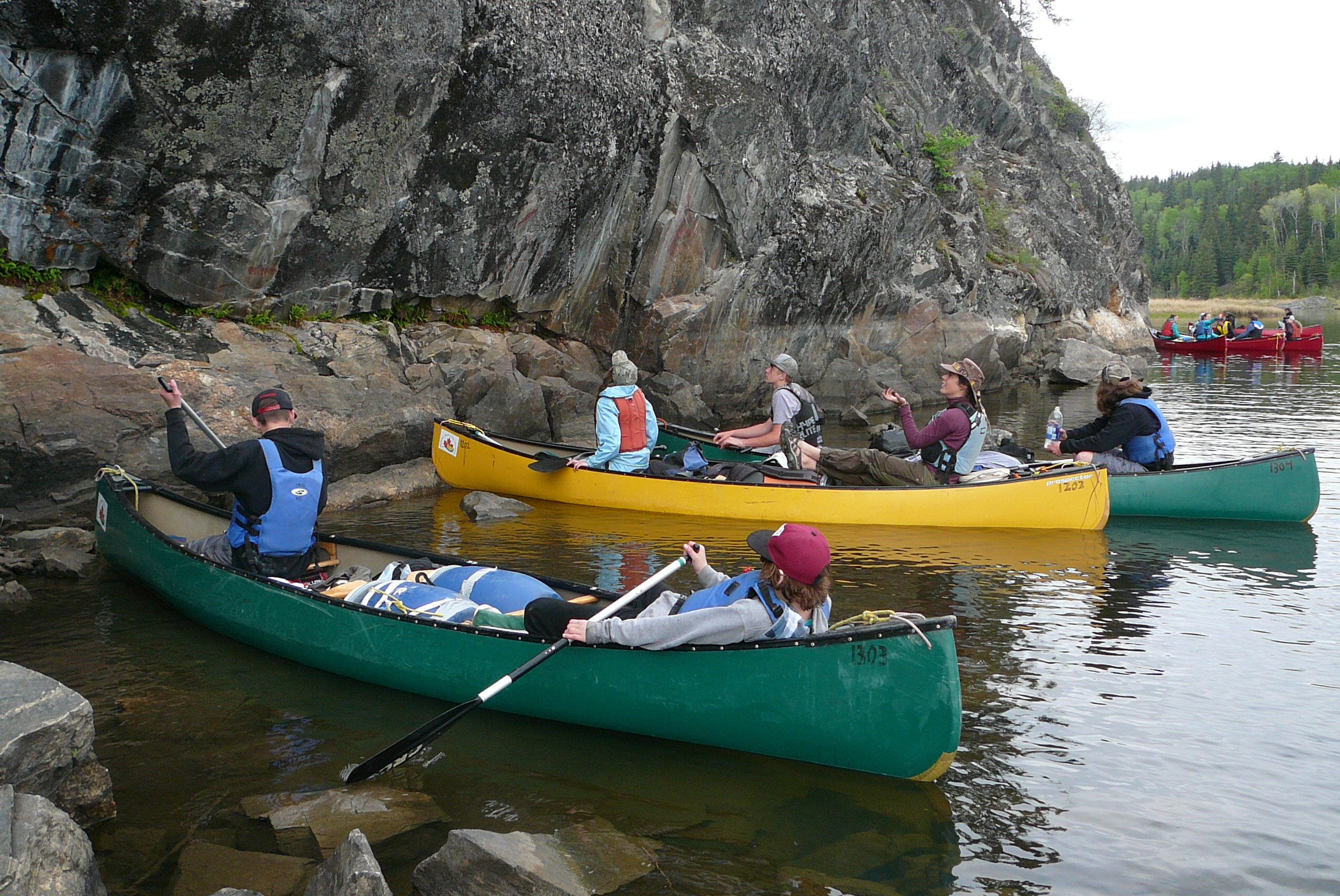 Bruno Central School Wilderness Canoe Trip 2016 - Image 2