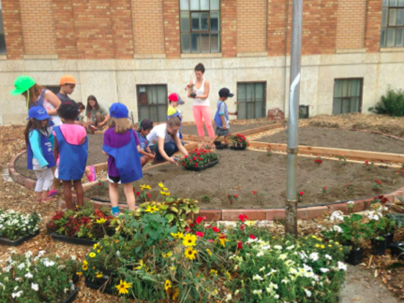Early Years Family Centre Garden 2014