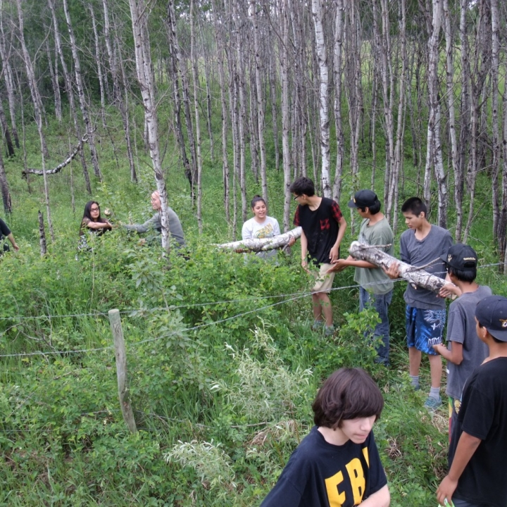 Sakewew Permaculture and Treaty Education Program