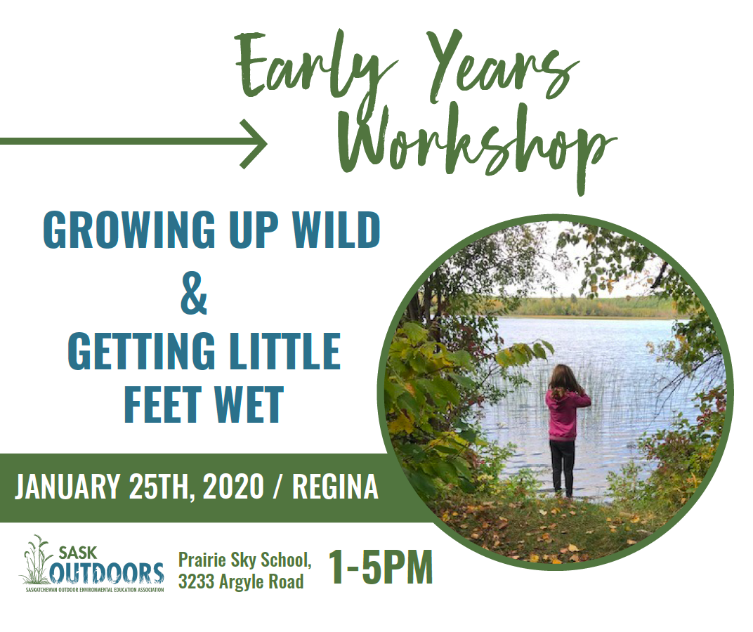 Growing Up WILD and Getting Little Feet Wet Workshop