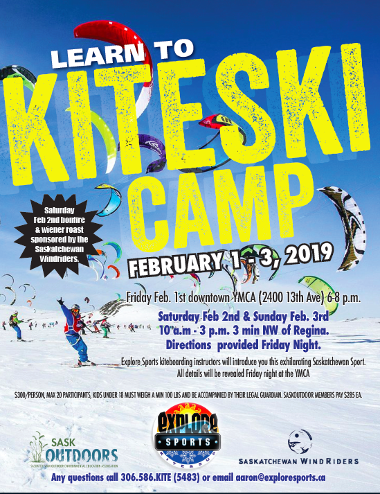 Learn to Kiteski Camp