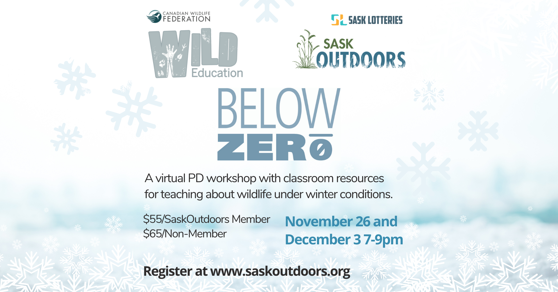 Virtual Below Zero Workshop