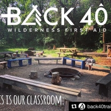 We are lucky to have great partners that help us run programs across the many kilometres of Saskatchewan!  #Repost @back40training ・・・ #thisisourclassroom Once again I'm so very lucky to find another great outdoor classroom!  I'm excited to be p