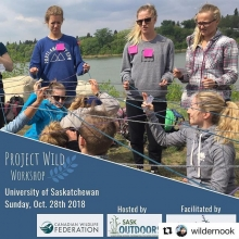 #Repost @wildernook ・・・ Looking for practical tools for teaching out on the land? @saskoutdoors is hosting a fun and practical training session aimed at introducing educators to the interdisciplinary Project WILD Activity Guide. The guide (included