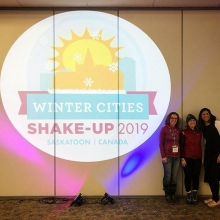 Leah, Zoe & Aditi had a great time @wintercitiesshakeup representing SaskOutdoors and learning tips to prepare for @eecom.canada in May!