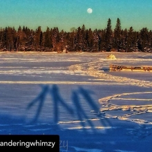 Posted @withrepost • @wanderingwhimzy Were on a #familyday #adventure ! #snow #moon #fun #outdoors #crosscountryskiing #snowshoeing #waskesiu #princealbertnationalpark @parks.canada @saskoutdoors @waskwild @hawoodinn