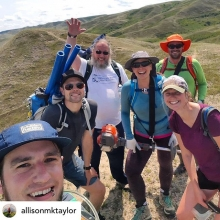 It takes a lot of effort to maintain trails. Trails help us know where to walk and help us all tread more lightly. Thank you!! Posted @withrepost • @allisonmktaylor Another year & another fun weekend spent in the hills maintaining trails for  @pskyrunni