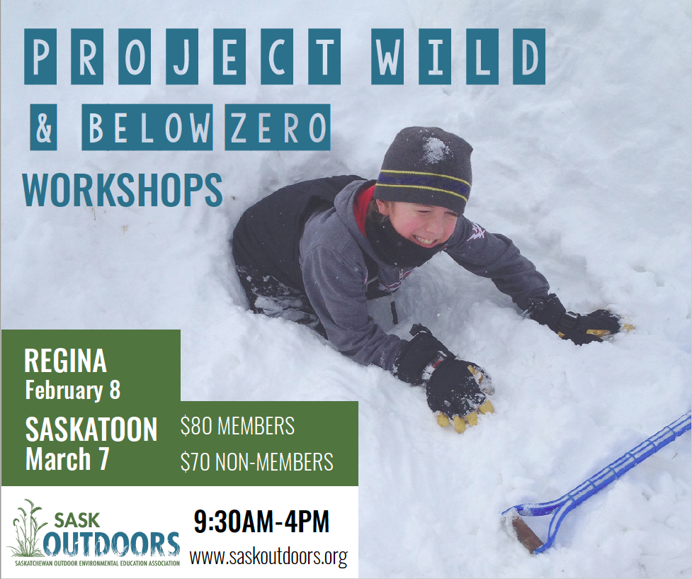 Project WILD/Below Zero Workshop (Regina)