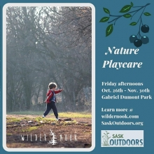 Come out and play! Friday afternoons in Gabriel Dumont Park, Saskatoon. With @wildernook