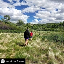 Enter into the contest by June 25 to win! Posted @withrepost • @convictionfitness We had a great time exploring Hidden Valley Nature Refuge yesterday. Just a few minutes outside of Craven, it was worth the short trip. . With no maps, and less than perfe